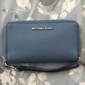 Michael Korda Wristlet Wallet- mildly used